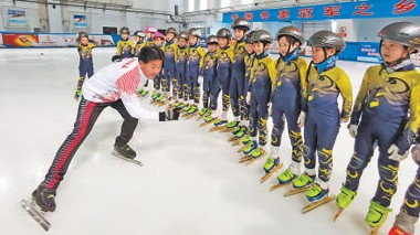七台河短道速滑教练员群体——帮更多孩子实现梦想