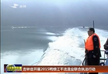 吉林省开展2015鸭绿江干流渔业联合执法行动