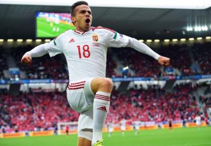 欧洲杯-绍洛伊致命一击 匈牙利2-0胜10人奥地利