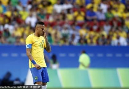 奥运男足-内少赫苏斯险破门 巴西0-0平10人南非