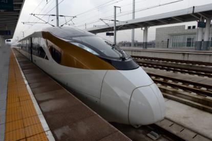 """中国动车组有了新命名 长客造""""金凤凰""""被命名为CR400BF"""