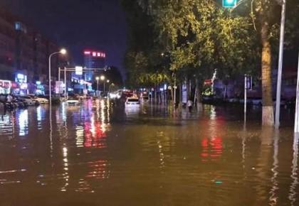 吉林省出现今年入汛以来最明显降雨天气过程