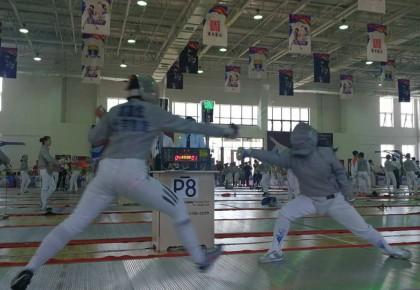 第九届全国中学生击剑锦标赛在长春举行