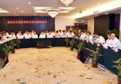 加快东北地区民航全面发展座谈会在长举行 刘国中致辞 冯正霖讲话