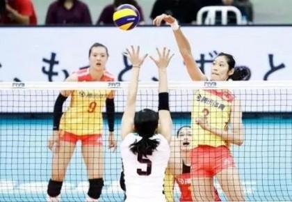 中国女排在大冠军杯决赛3比1击败日本队,五连胜夺冠!