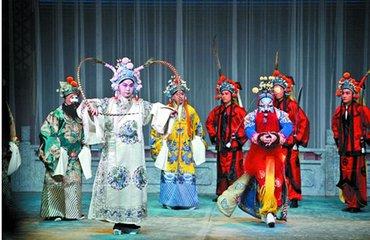 生旦净丑,争奇斗艳,吉林省举办首届青年戏曲演员展演活动