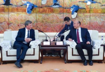 增进友好交流 深化务实合作 刘国中会见爱沙尼亚驻华大使高马腾