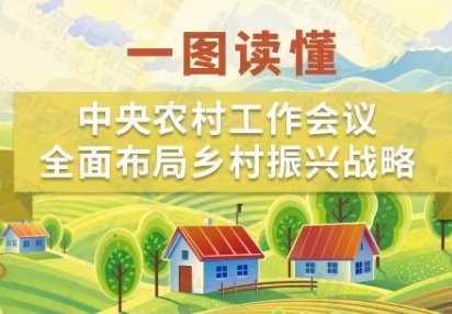 一图读懂丨中央农村工作会议 全面布局乡村振兴战略