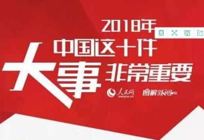 关注!2018年,中国这10件大事非常重要!