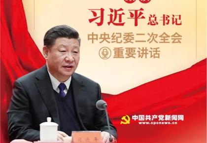 数读习近平总书记中央纪委二次全会重要讲话