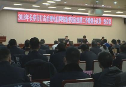 长春市召开2018年打击治理电信网络违法犯罪会议