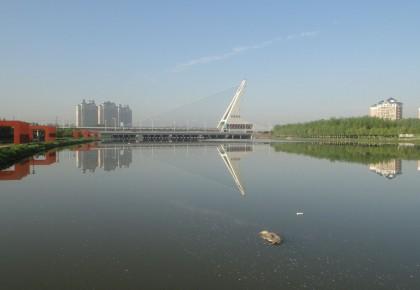 长春市伊通河沿岸景观公园预计年内全部开放