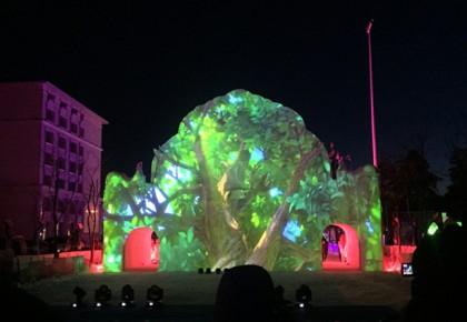 第十二届长白山雪文化旅游节盛装启幕