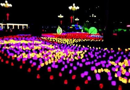 二道江区实施亮化工程提升城市夜景亮化水平