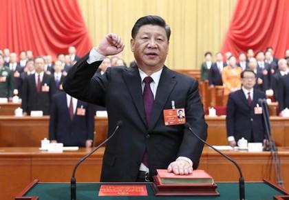 历史时刻——中国国家主席宪法宣誓纪实
