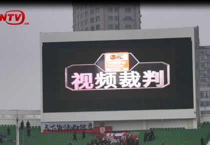 中超第四轮:视频裁判抢镜 亚泰主场1比2遭富力逆转