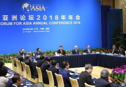"""习近平在博鳌亚洲论坛2018年年会开幕式上的主旨演讲在""""一带一路""""沿线地区引发强烈反响"""