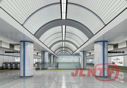 【探秘】长春地铁二号线进入装修阶段  一起看看烟厂站现在啥样了!