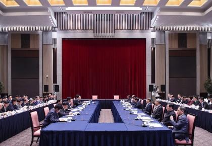 巴音朝鲁率吉林党政代表团赴上海学习考察:主动学习对接上海 携手推动东北振兴