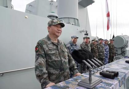中央军委在南海海域隆重举行海上阅兵 习近平检阅部队并讲话(附视频)