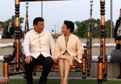 习近平和彭丽媛:这就是爱的样子