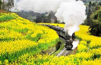 """旅游消费旺盛 铁路客流持续高位——""""五一""""小长假盘点"""