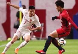 亚冠淘汰赛首回合:上海上港1:3客场不敌鹿岛鹿角