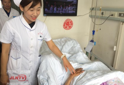 """昨天在长春街头跪地救人的""""最美护士""""李莹找到了"""