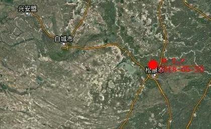 吉林松原市宁江区附近发生3.7级地震