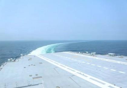 刚刚,我国第二艘航母完成首次出海试验!
