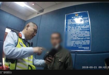 【视频】无证醉驾摩托 男子被拘十五天