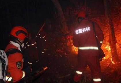 内蒙古林火蔓延至黑龙江 2000余人正在现场扑救