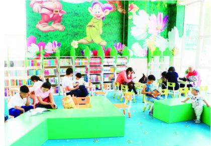 长春市首个设在医院内的图书馆落户儿童医院