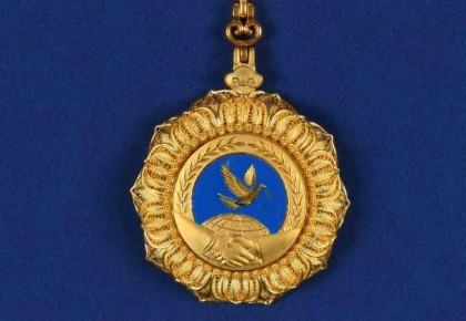 """中华人民共和国""""友谊勋章""""将于6月8日首次颁授"""