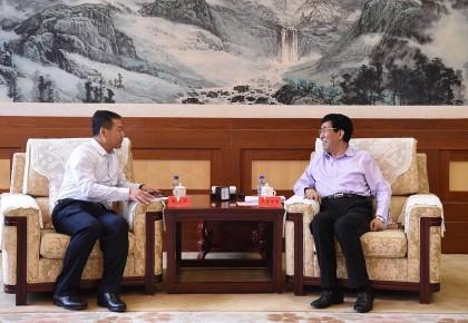 我省与中铁沈阳局集团举行工作会谈 巴音朝鲁出席