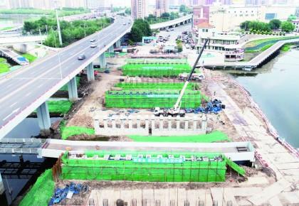 东大桥预计九月末通车