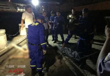 【痛心】男子下河打鱼不幸溺亡 救援队连夜进行打捞