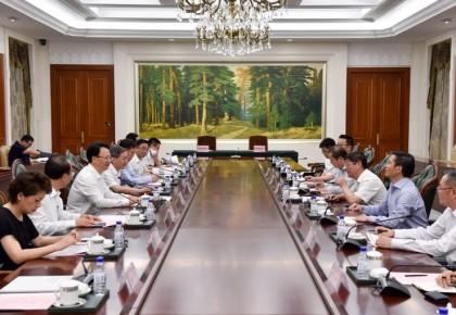 省政府与南山集团举行工作座谈会 景俊海程仁策出席 我省与青岛航空签署战略合作协议