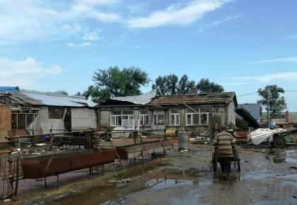 吉林黑龙江风雹洪涝灾损失1.5亿元
