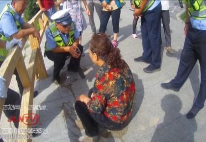 【视频】梅河口:女子跳河轻生 交警下水救人