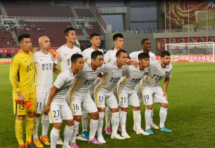 中超第14轮:长春亚泰客场0比2不敌天津权健