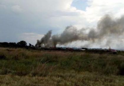 一架墨西哥航班起飞后不久坠毁 伤亡情况不详