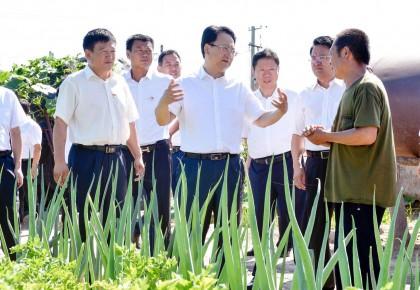 景俊海在白城调研时强调 坚决兑现脱贫承诺 建设美丽宜居乡村 毫不松懈加强防汛保护人民群众生命安全