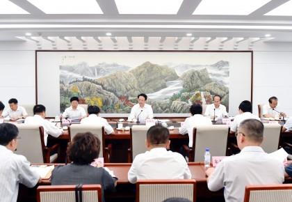 景俊海在全省金融服务实体经济发展工作座谈会上强调 树立共融发展理念优化资源配置 推动回归本源服务壮大实体经济