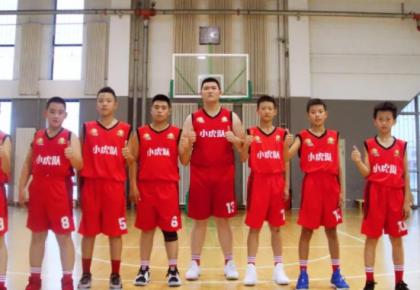 昨日,万博手机注册东北虎小虎队征战2018小篮球东北大区赛