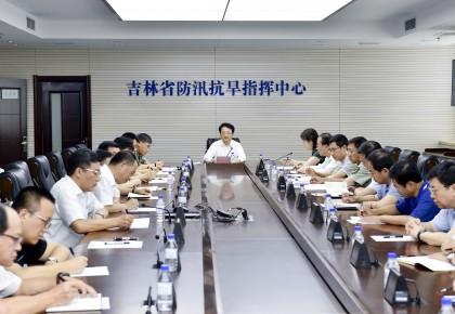 """景俊海在全省防御台风""""摩羯""""视频会议上强调 把人民群众生命安全放在首要位置 主动防范扎实做好防御台风各项工作"""