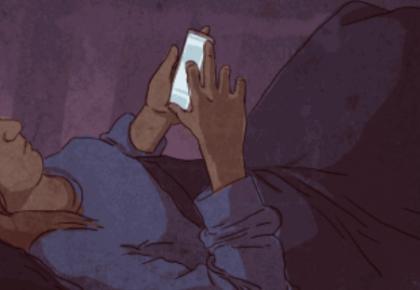 """睡前关灯玩手机会得眼癌?""""华西医生李丽忠告""""是谣言"""