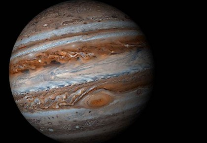 木星上也有水?木星大红斑发现水的迹象 含水总量有待确定