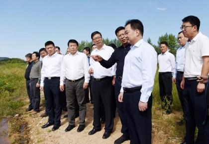 王君正调研石头口门水源地生态环保工作:坚决抓好水源地保护工作,打好生态文明建设攻坚战