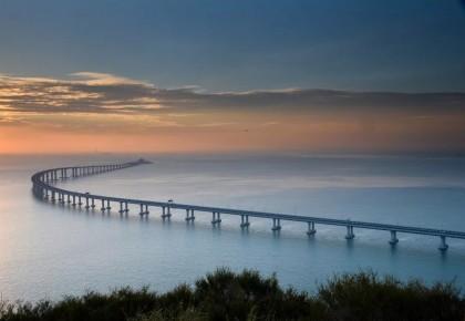 震撼!一张长图带你领略港珠澳大桥